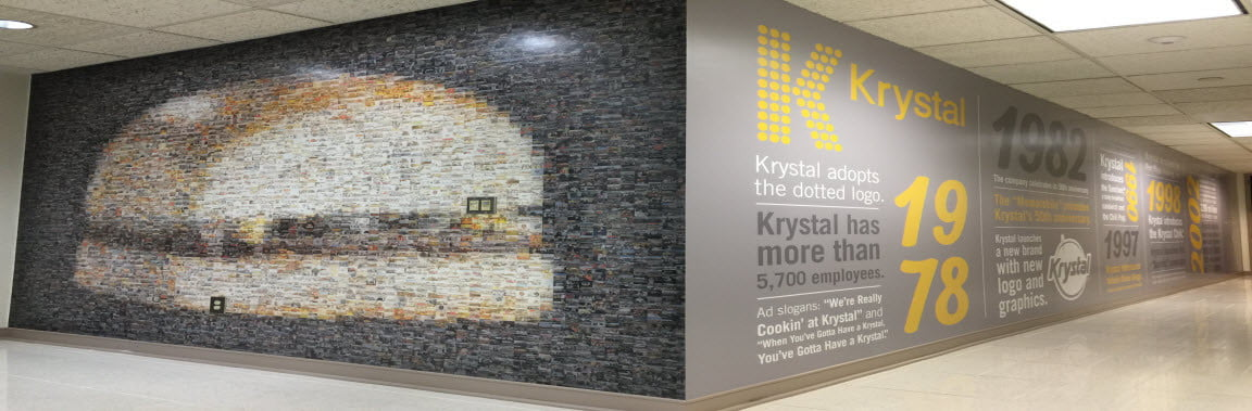 Krystal Wall Graphic slider