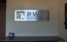 lobby sign for business