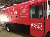 Mobile Coffee Truck Wrap