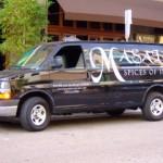 van vinyl lettering